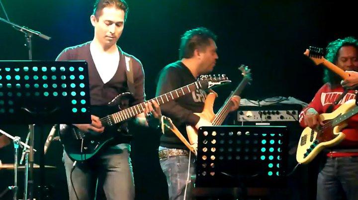 Joey Soplantila guitar jamsession