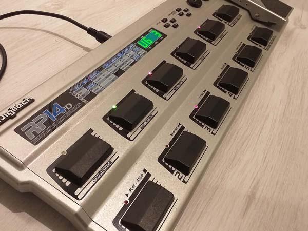 Digitech RP14 (D) multi processor guitar