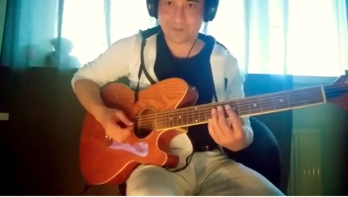 Firehawk FX and acoustic guitar