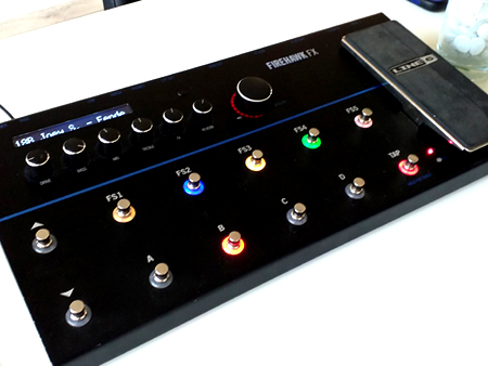 Joey Soplantila: New sound on your Line 6 Firehawk FX?