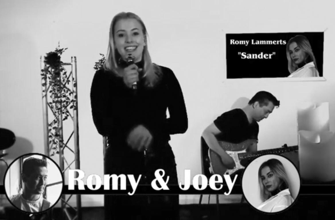 """Romy Lammerts sings her new song """"Sander"""""""